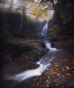 Picture of Autumn waterfall