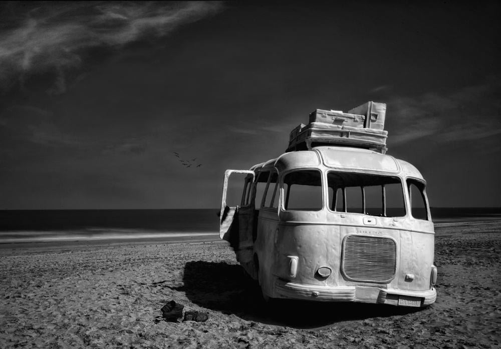 Picture of Beached Bus