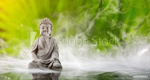 Picture of Buddha in meditation