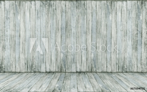 Picture of empty wooden room