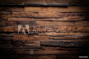 Picture of design of dark wood background