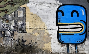 Picture of blue picture-graffiti-europe