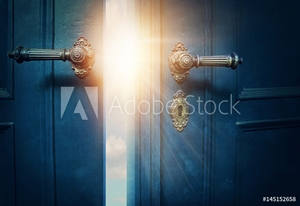 Picture of Open blue door