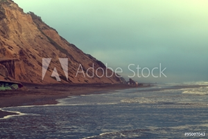 Picture of Beach in evening, San Francisco, California, USA