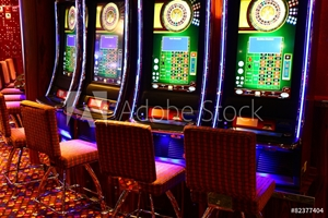 Picture of Gaming slot machines