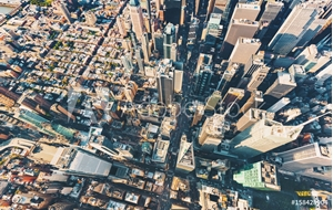 Picture of Aerial view of Central Park and Times Square, NY