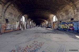 Picture of Abandoned Train Station - Buffalo, New York