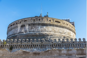 Picture of Castle of Sant Angelo in Rome, Italy