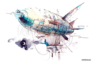 Picture of airship