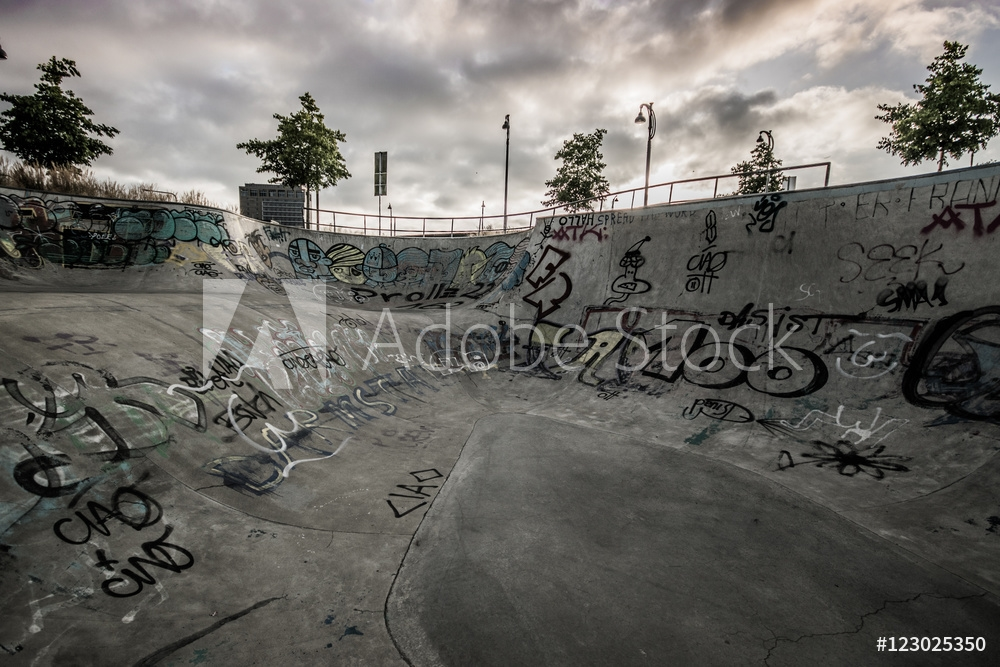 Picture of At the skatepark