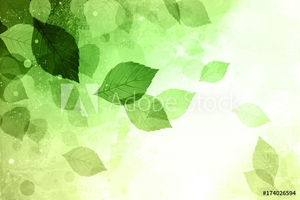 Picture of Green Brown Tone Modern Abstract Art Background Pattern Design