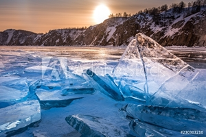 Picture of Icy wonders of Baikal lake
