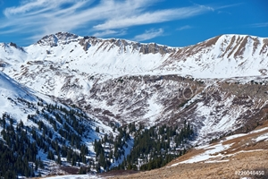 Picture of Independence Pass in Rocky Mountains