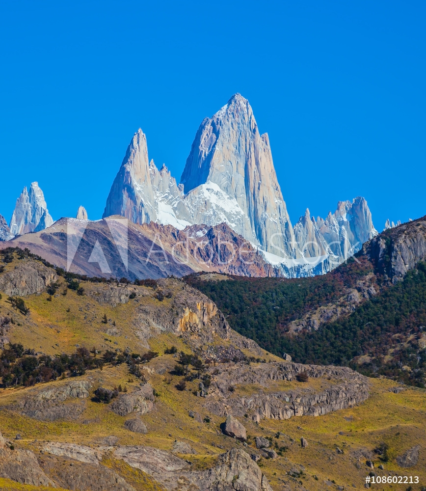Picture of  Amazing tops of Mountains Fitzroy
