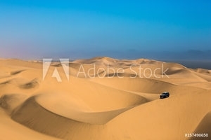 Picture of  Dangerous jeep - safari through sand dunes
